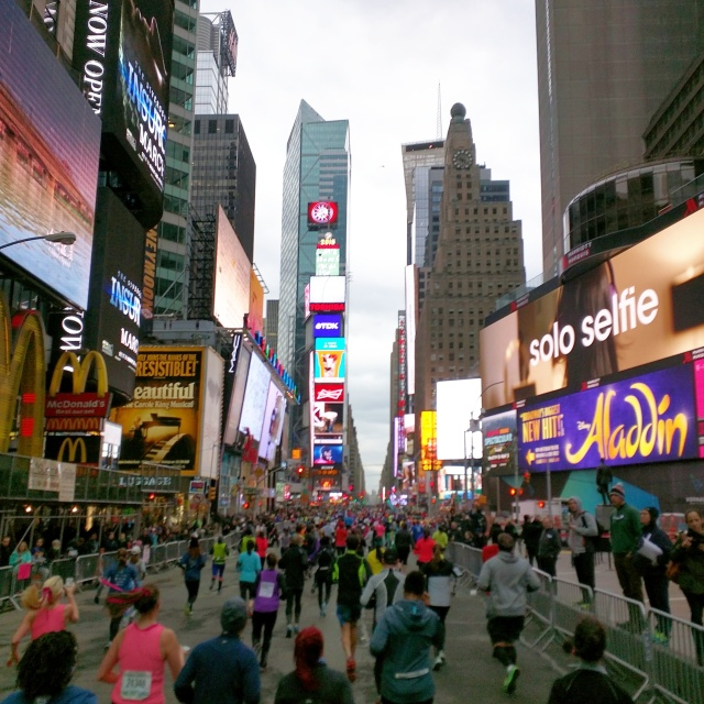 Time Square NYC Half Marathon